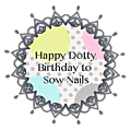 Happy dotty birthday to sow nails