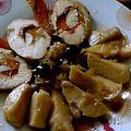 Roti de dinde au poivron rouge