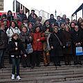 VD.Sortie Paris tour Montparnasse, musée A.Bourdelle