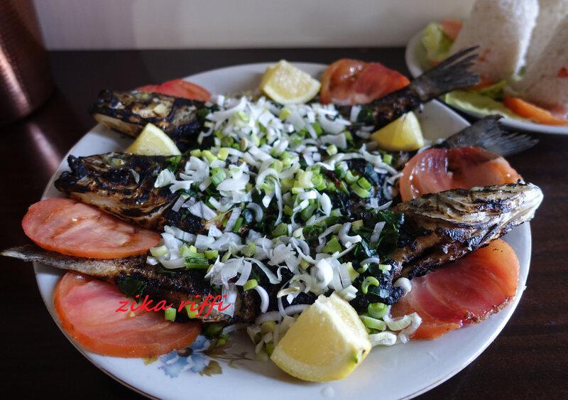 poissons grillés