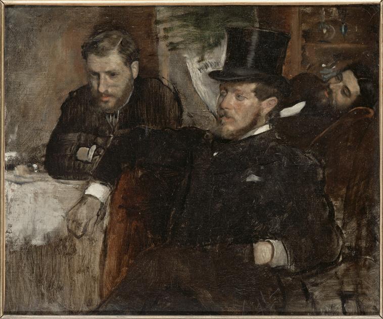 Degas, Jeantaud, Linet et Lainé (mars 1871)