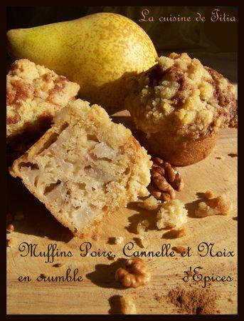 muffins_poire_cannele_noix_crumble_epices