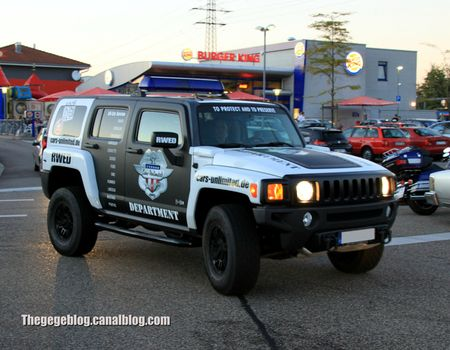 Hummer H3 (Rencard Burger King septembre 2012) 01