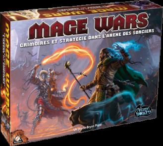 Boutique jeux de société - Pontivy - morbihan - ludis factory - Mage wars