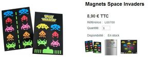 Magnet Space Invaders