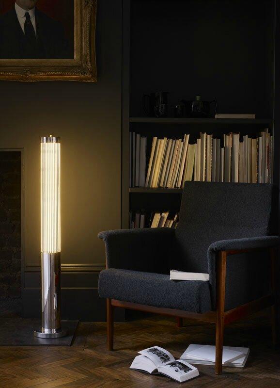 Davey-Lighting-Pillar-floor-light-chrome-library-sitting-room-lighting-lifestyle-Portrait