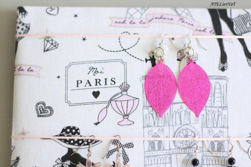 toujours populaire vente à bas prix nouveau style de vie Cadre tissu porte-bijoux & foulards {déco utile ...