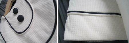 blouse plastron 130328B