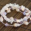 bracelets perles eau douce