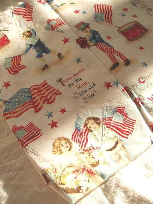 Tissus Vintage américain