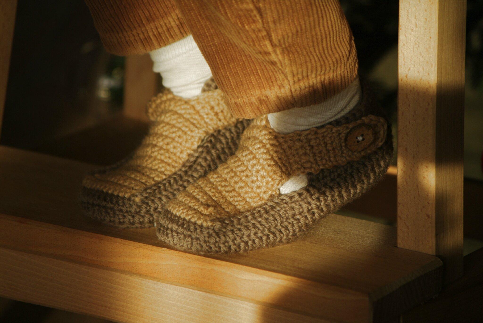 crocheter des chaussons