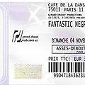 Fantastic negrito - dimanche 4 novembre 2018 - café de la danse (paris)