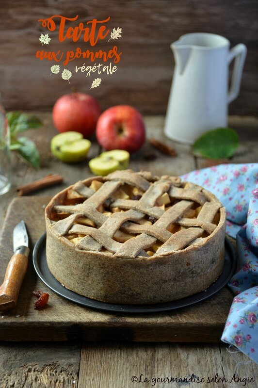 vegan apple pie 3