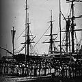 1869 Inauguration du canal de Suez, Rembarquement des troupes après la cérémonie