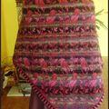 Birds shawl