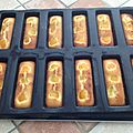 Financiers aux abricots