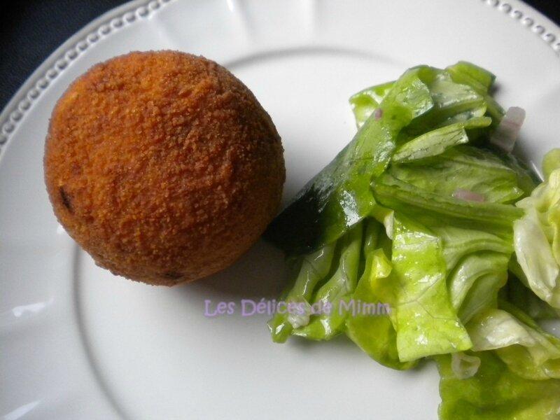 Arancini (boulettes de riz siciliennes) 3
