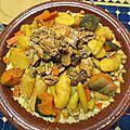 Le couscous marocain est le plat de toutes les festivités