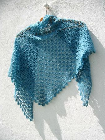 South bay shawlette crochet lace 035