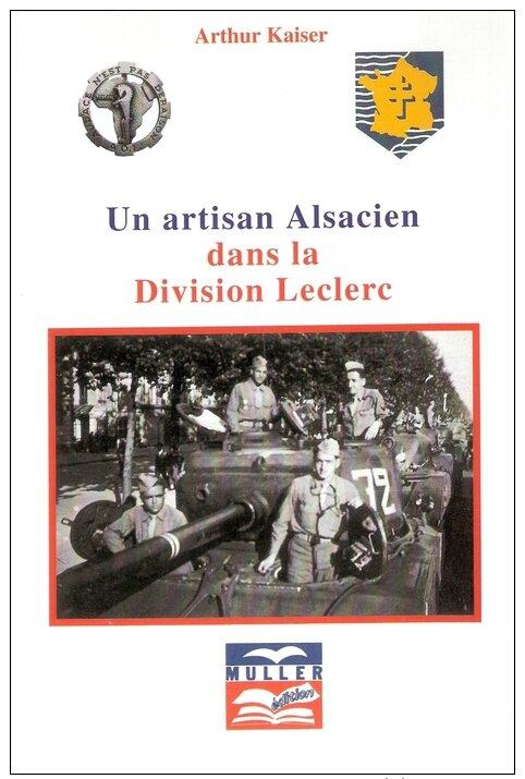 Livre Arthur KAISER