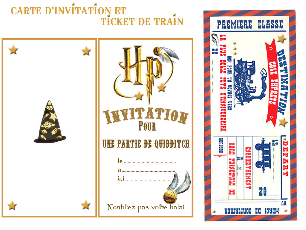 Theme Harry Potter Magie Et Sorcellerie 1 Et 2 Et 3
