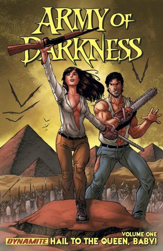 army of darkness vol 1 hail to the queen baby ! TP
