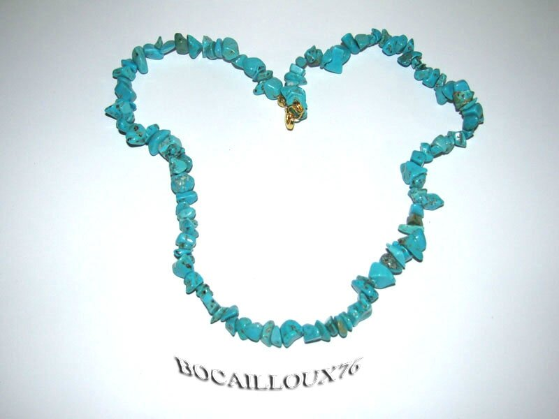Collier HOWLITE Turquoise 3 (2)