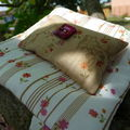 Old Roses threads Bag