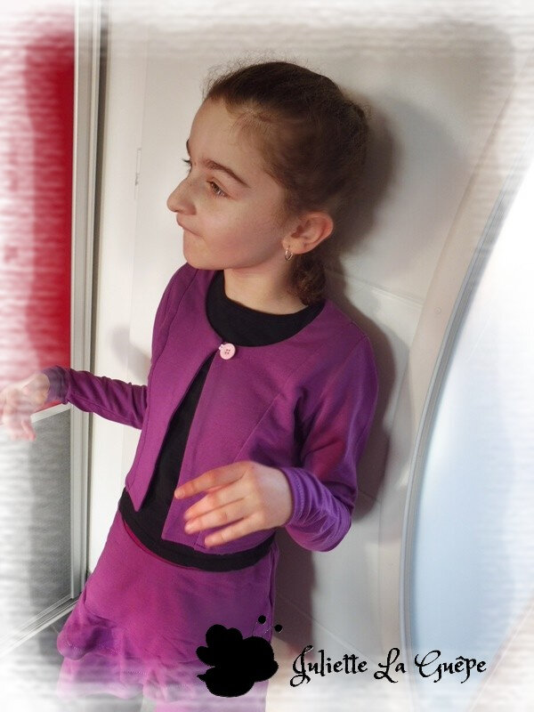 Aura et Nina sweat purple1