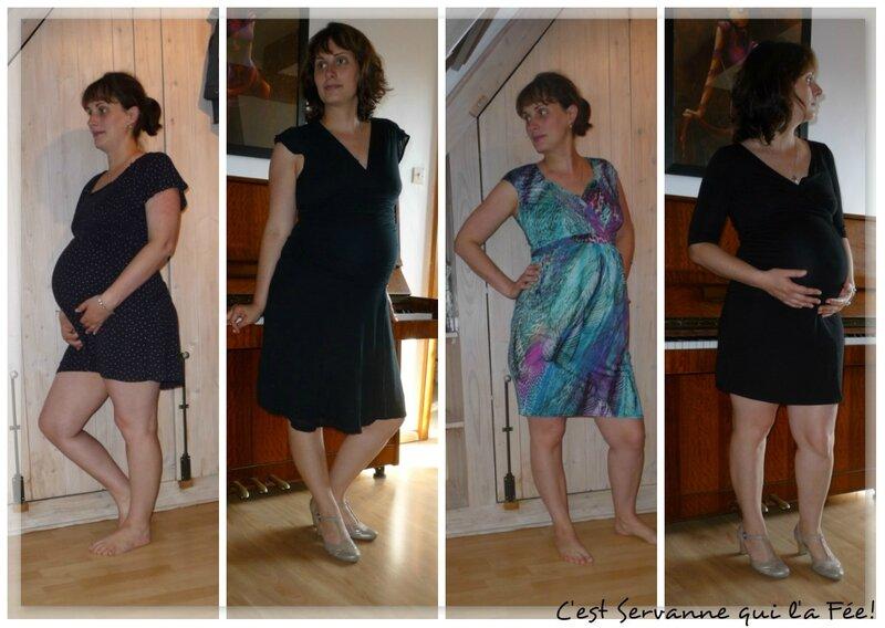 Tenues de grossesse robes
