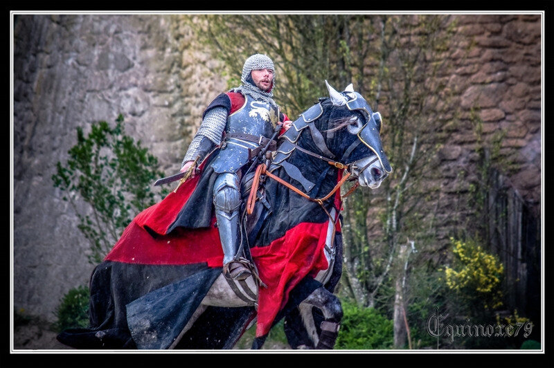 Guerre de Cent Ans les Anglais attaquent la région du Puy du Fou, Les guerres de religion ruinèrent partiellement le château