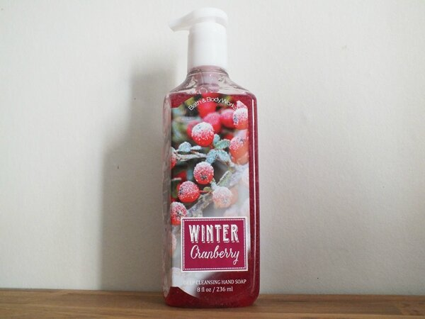 1 Winter Cranberry Bath and Body Works