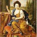 Mademoiselle de tours, fille de louis xiv
