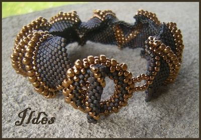 bracelet_jagged_marron_dor__3