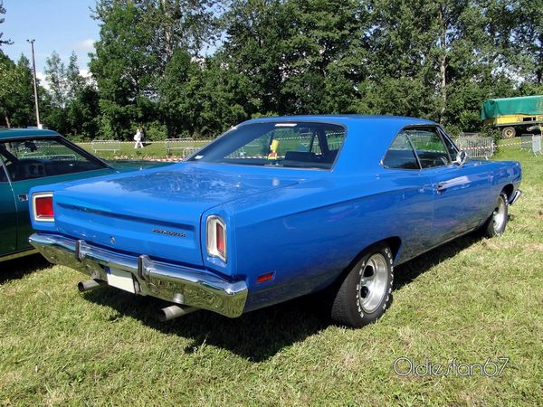 plymouth satellite hardtop coupe 1969 4