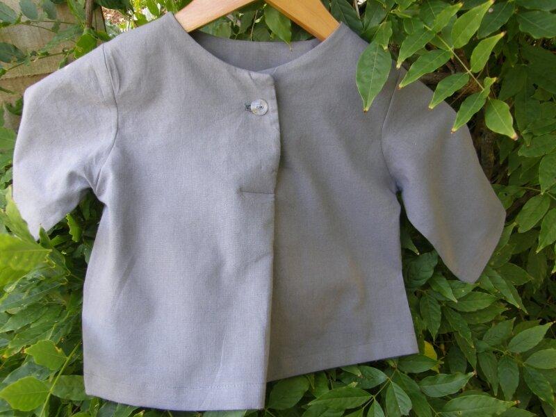 tunique boutonnée Intemporels pour bébés