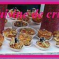Minis muffins salés façon pizzas