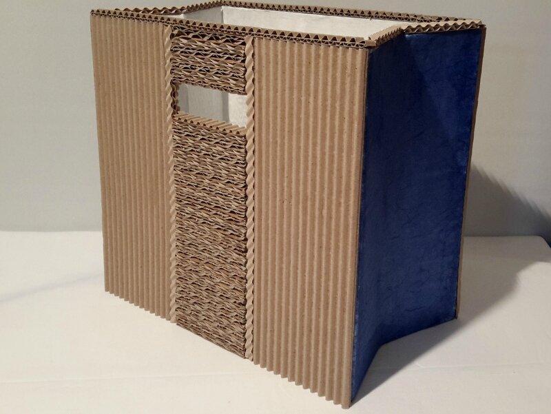 """portes-revues """"dentelle de carton"""" - an'cartonne"""