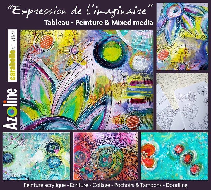 _ Tableau EXPRESSION DE L'IMAGINAIRE