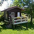 La cabane au fond du jardin ...