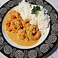 Curry de crevettes a l'indienne