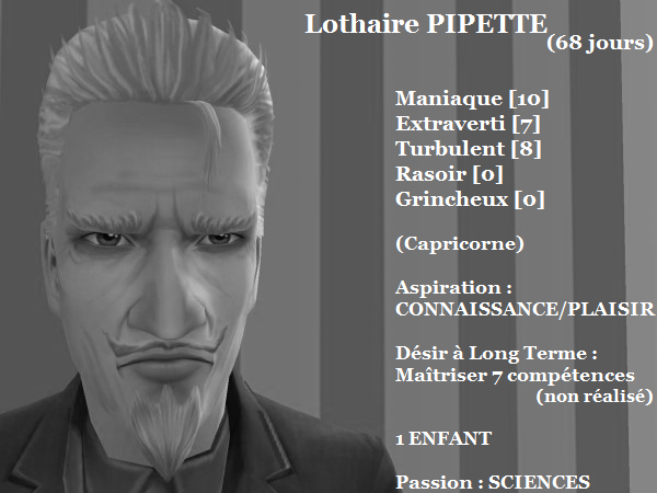Lothaire PIPETTE