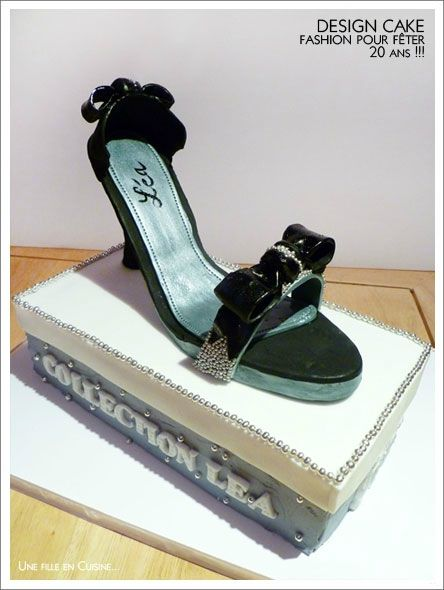Ans 3 Shoes Cake Des Chocolats Layer Pour Fashion 20 Fêter zZ54cqwF