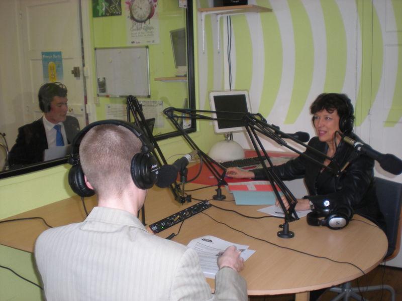 Roselyne Bachelot sur Radio Campus - 28 mars 2009