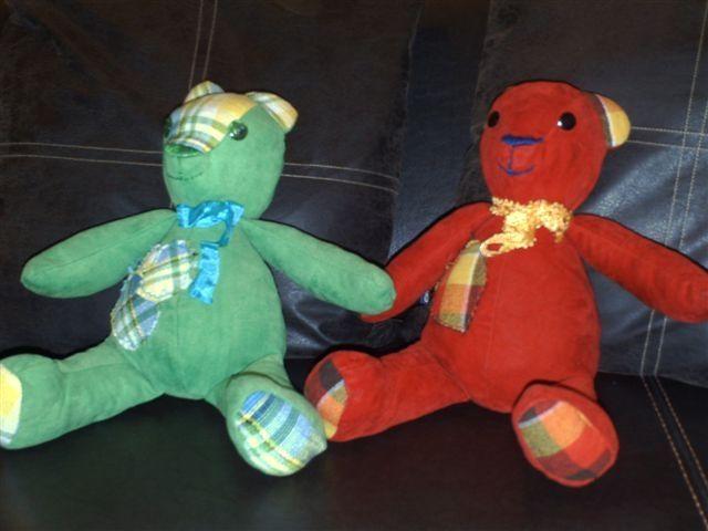 gédéon le vert et théodore le rouge