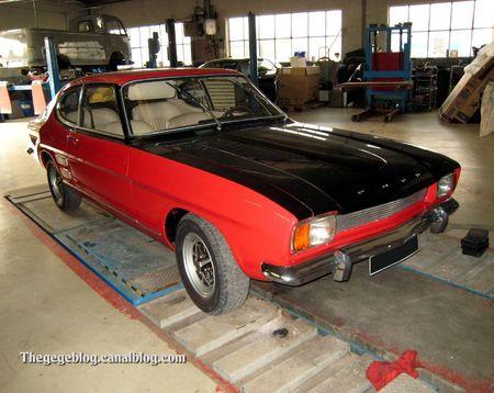 Ford capri MKI coupé (1969-1973)(Marlenheim) 01