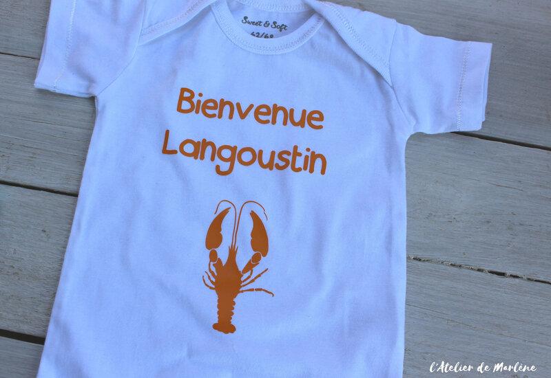 body personnalisé Langouste