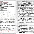 Albert vinassac mort pour la france le 5 octobre 1916.