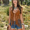Alessandra Ambrosio en Forever 21