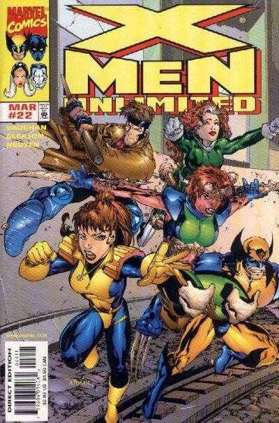 x-men unlimited 1993 22